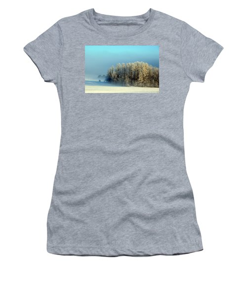 Winter's Heavy Frost Women's T-Shirt