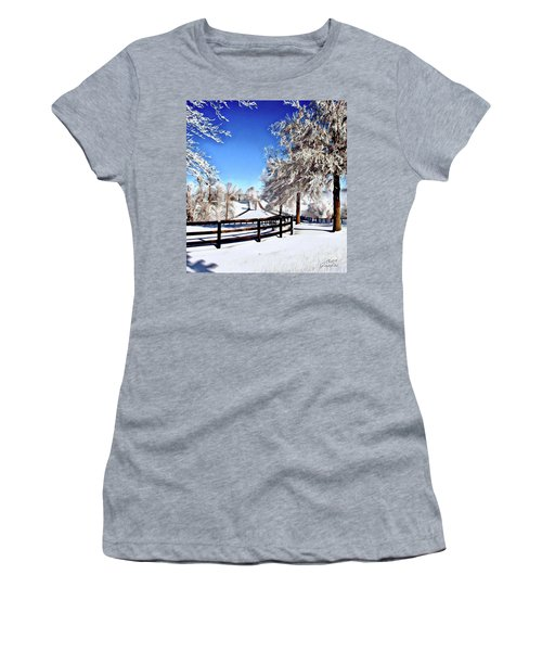 Wintry Lane Women's T-Shirt
