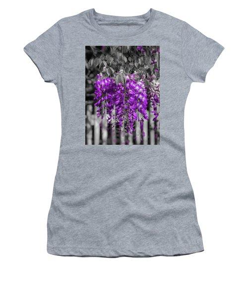 Wisteria Falling Women's T-Shirt