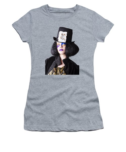 Woman In Joker Costume Women's T-Shirt