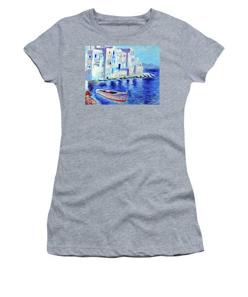 Wondrous Mykonos  Women's T-Shirt