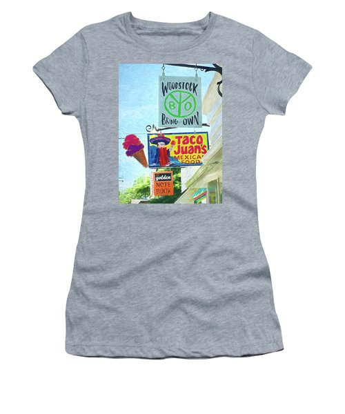 Woodstock Peace And Love 2 Women's T-Shirt