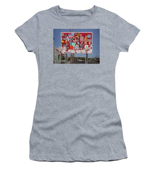 Wrong Way Women's T-Shirt