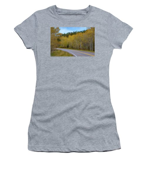 Yellow Aspens Women's T-Shirt