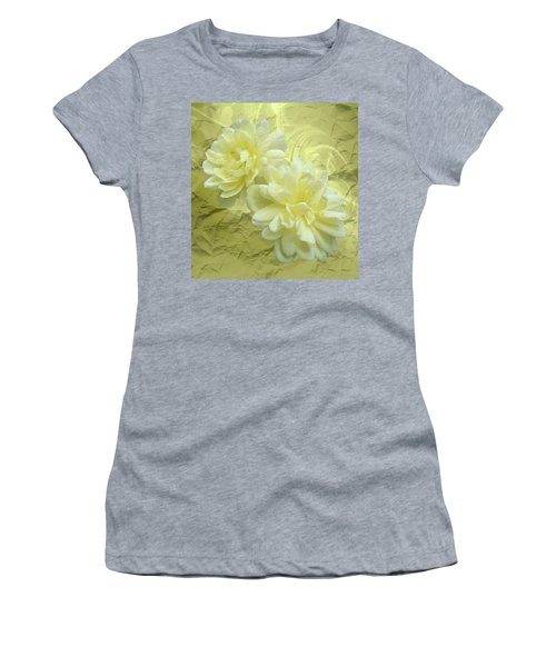 Yellow Foil Women's T-Shirt