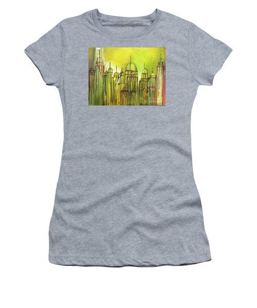 Yellow Mosque  Women's T-Shirt