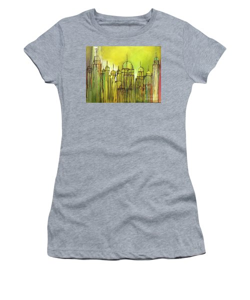 Yellow Mosque  Women's T-Shirt