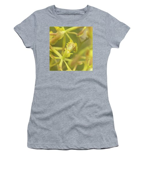 Yellow Orchid Women's T-Shirt