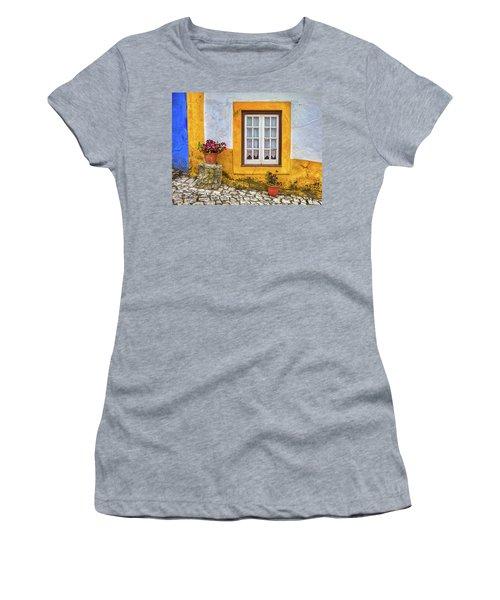 Yellow Window Of Obidos Women's T-Shirt