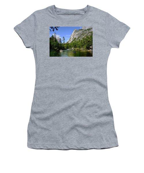 Yosemite Mirror Lake, Lower Pool Women's T-Shirt