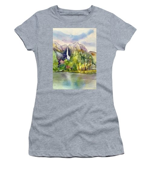 Yosemite Waterfalls Women's T-Shirt