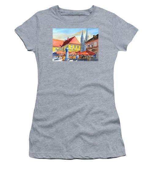 Zagreb Near Dolce Market Women's T-Shirt