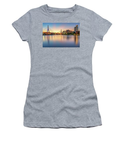 Zakim Bridge At Dawn Women's T-Shirt