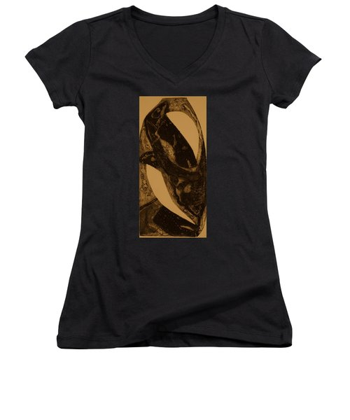 A Fungus Women's V-Neck T-Shirt