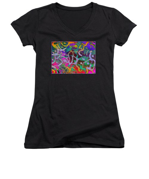 B.b. Three Women's V-Neck T-Shirt