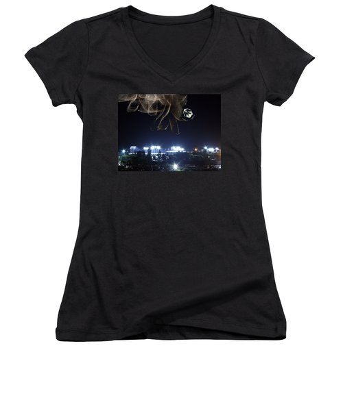 Fans From Space Women's V-Neck (Athletic Fit)