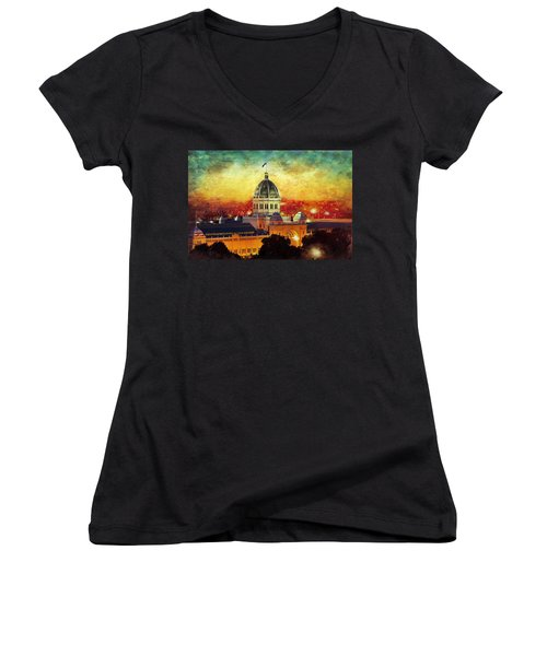 Royal Exhibition Building Women's V-Neck