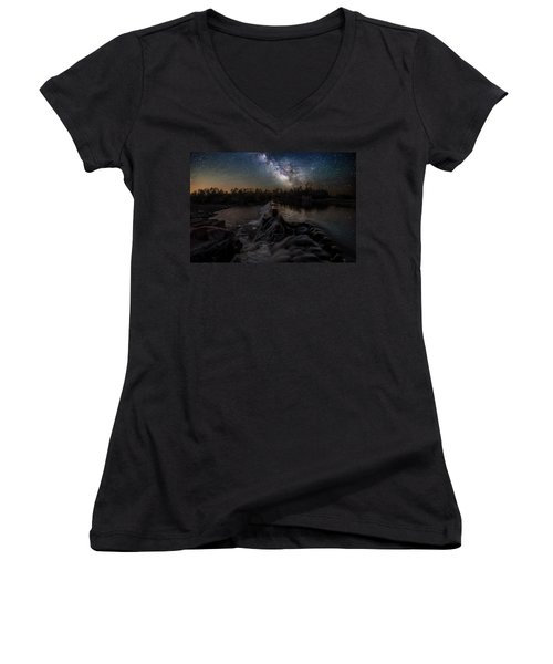 Split Rock Dreamscape Women's V-Neck