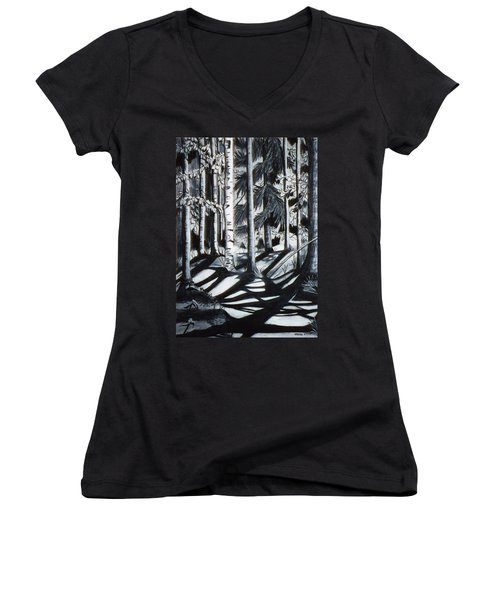 Take The Maine Path Women's V-Neck