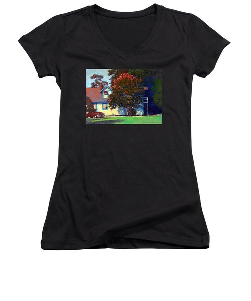 Doug's Apartment Women's V-Neck (Athletic Fit)