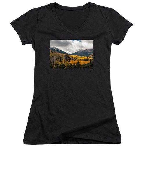 Flagstaff Fall Color Women's V-Neck