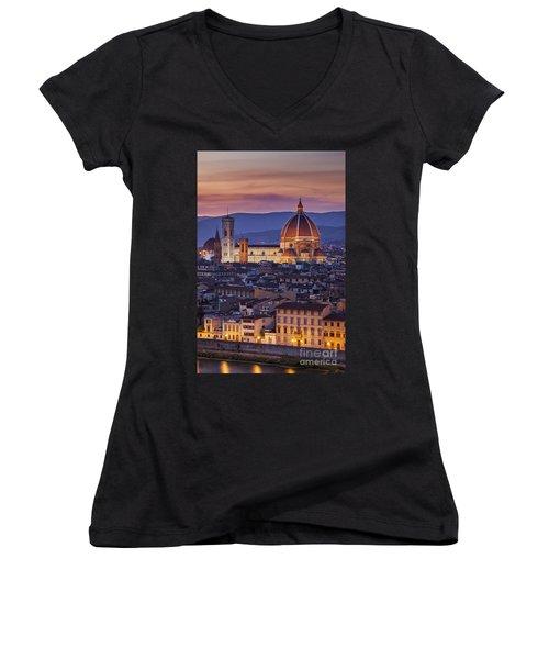 Florence Duomo Women's V-Neck