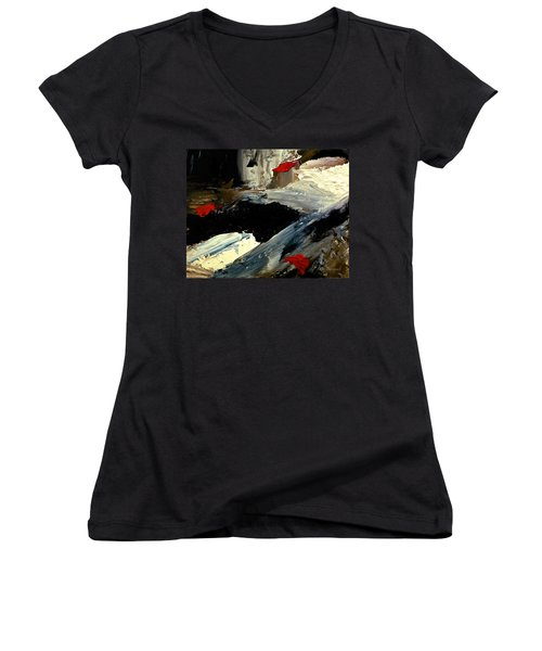 Flume Women's V-Neck T-Shirt