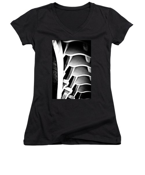 Fractal Ford Women's V-Neck (Athletic Fit)