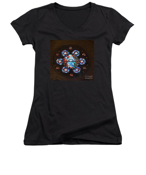 Grace Cathedral Women's V-Neck T-Shirt