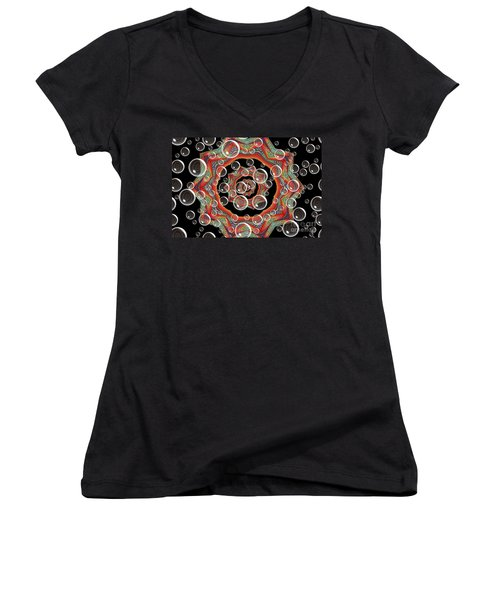 Holiday Card Women's V-Neck (Athletic Fit)