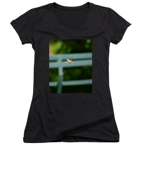 Hummer In Flight Women's V-Neck