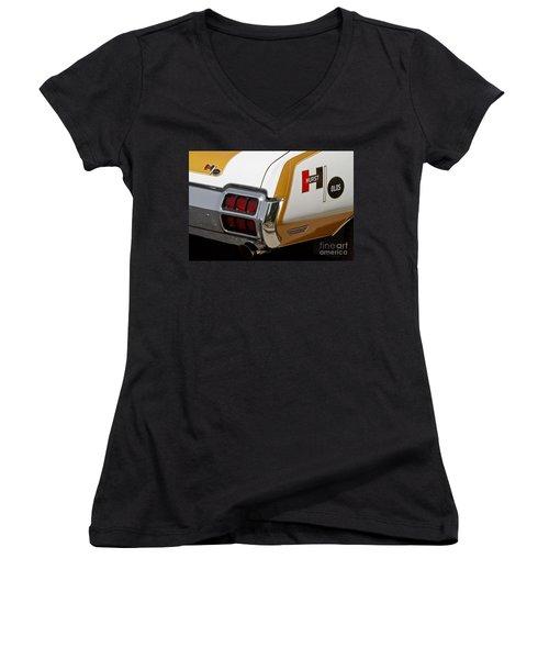 Hurst Olds Women's V-Neck T-Shirt