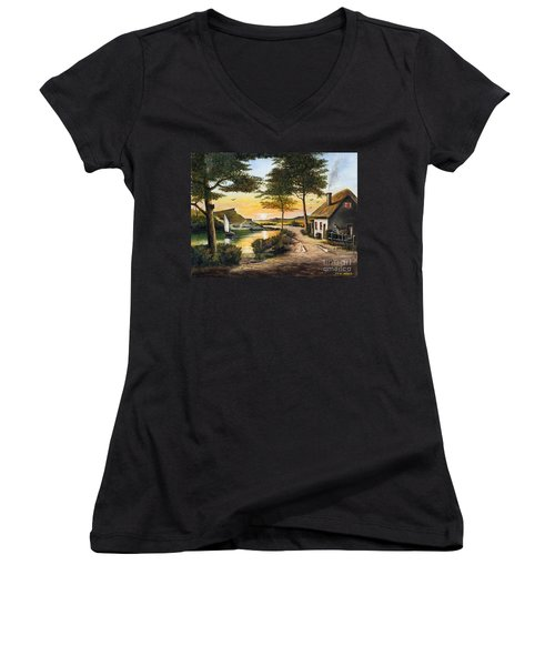 Irish Retreat Women's V-Neck