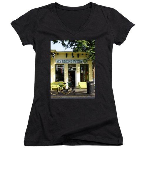 Key Lime Pie Women's V-Neck T-Shirt