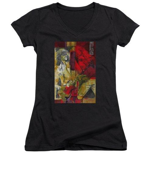 Led Zeppelin  Women's V-Neck T-Shirt
