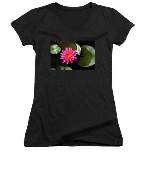 Lotus Women's V-Neck