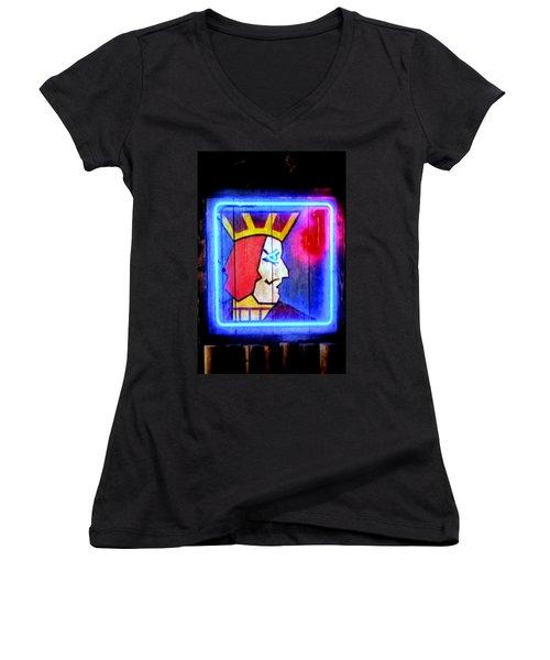 One Eyed Jacks Women's V-Neck T-Shirt
