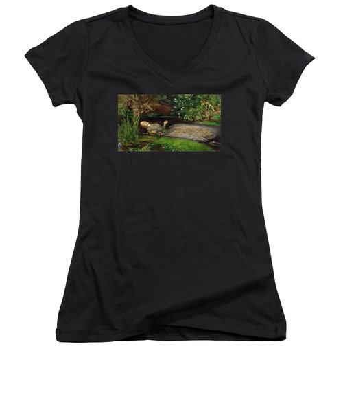 Ophelia Women's V-Neck T-Shirt