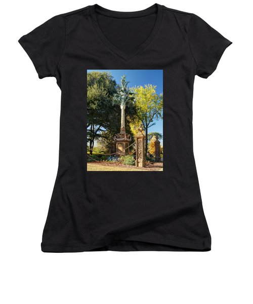 Palmetto Regiment Monument  Women's V-Neck