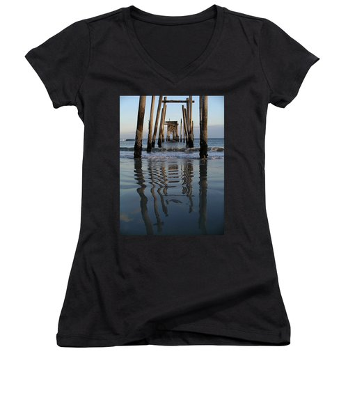Pier Reflections Women's V-Neck (Athletic Fit)