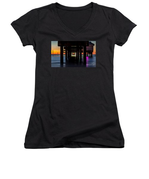 Pier Under II Women's V-Neck (Athletic Fit)