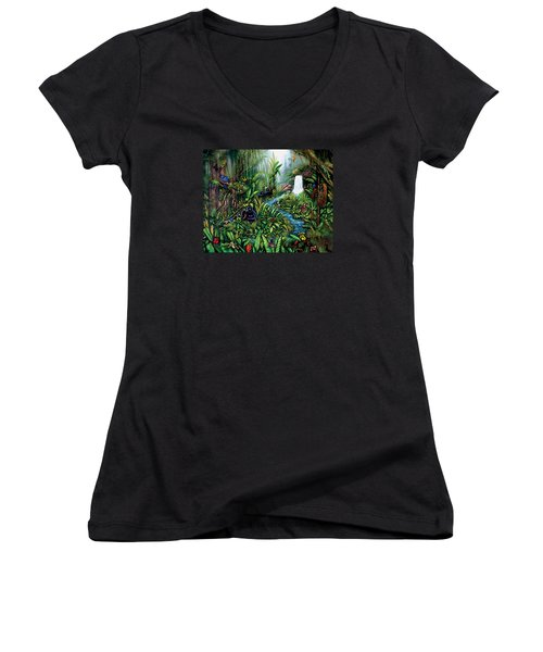 Resurgence Women's V-Neck (Athletic Fit)