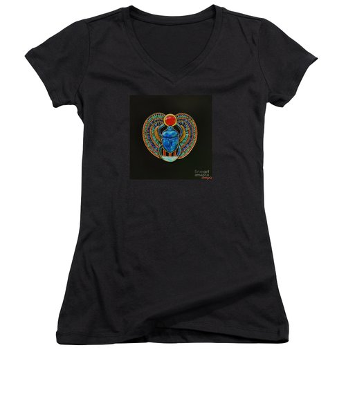 Scarab Women's V-Neck (Athletic Fit)