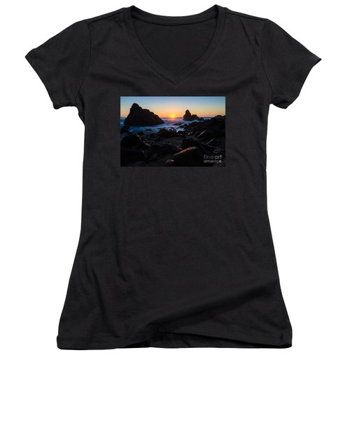 Sun Kissed Women's V-Neck T-Shirt