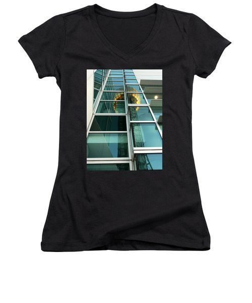 Sunsphere Reflections Women's V-Neck (Athletic Fit)