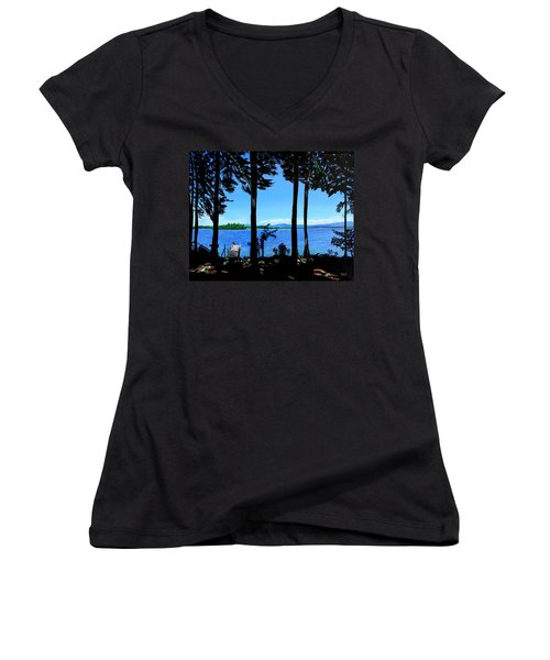 The Lake Women's V-Neck