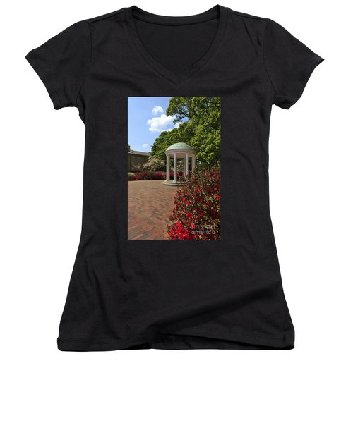 The Old Well At Chapel Hill Women's V-Neck (Athletic Fit)