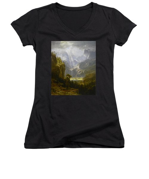 The Rocky Mountains Lander's Peak Women's V-Neck