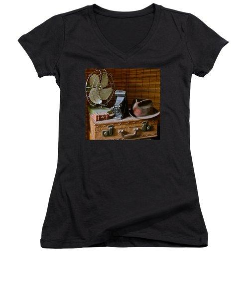 Vintage Vignette Women's V-Neck T-Shirt