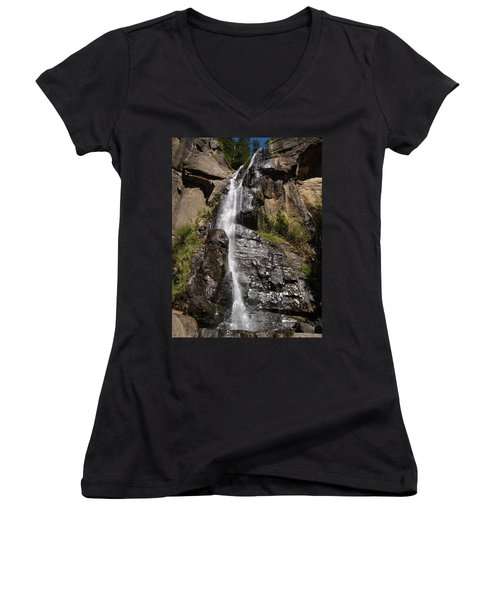 Wide Angle Shot Women's V-Neck (Athletic Fit)